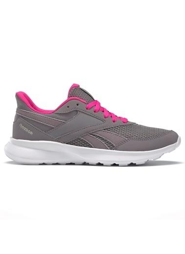 Reebok Kadın Siyah Quick Motion 2.0 Koşu Ayakkabısı FV16 Gri